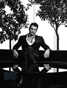 David Gandy Covers August Man, Talks About the Skinny Model + Changing Fashion