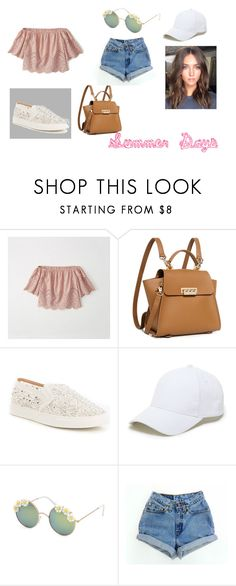 Summer Days by hayleyjf27 on Polyvore featuring Abercrombie & Fitch, Levi's, Antonio Melani, ZAC Zac Posen, Sole Society and Full Tilt