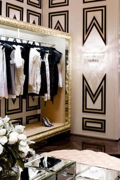 Interior Design Pinspiration: The Glamorous Life   - HarpersBAZAAR.com