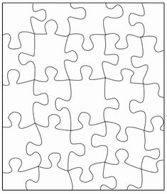 Puzzle Piece Coloring Page Lovely Puzzle Template Transfer This Puzzle to A Large Poster Write A Message On the Back and Cut Out Classroom Fun, Future Classroom, Classroom Organization, Beginning Of School, Middle School, Back To School, 3d Templates, Bulletins, Puzzle Pieces