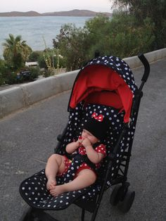 3bb978c3c8c9 Rolling around by #elodiedetails #babystroller in #Bodrum #Turkey  #summerholiday matching polkadots