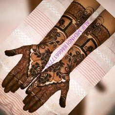 Rose Mehndi Designs, Full Hand Mehndi Designs, Henna Art Designs, Mehndi Designs For Beginners, Dulhan Mehndi Designs, Wedding Mehndi Designs, Beautiful Henna Designs, Hena Designs, Mehendi