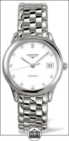 Lazo Grande Classique L47744276 36 mm automática de acero de plata de la pulsera y el caso de que el reloj de Zafiro Sintético de los hombres  ✿ Relojes para hombre - (Lujo) ✿