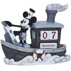 Mickey Mouse Perpetual Calendar - Precious Moments