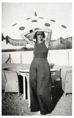 Jacques-Henri Lartigue, Renée Perle, 1930-32