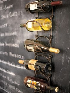 Don't let this seemingly ordinary wine rack from Pottery Barn fool you. It's where you mount it that makes all the difference. Try the side of an upper kitchen cabinet to create storage in a space that would normally go unused. The second best part? This Single Modular Wine Rack won't break the bank.