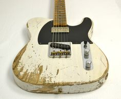 Fender Custom Shop 52 Telecaster Heavy Relic with Neck Humbucker White Blonde #R11533