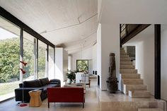 Abandoned stable turned into family home by �baton Architects