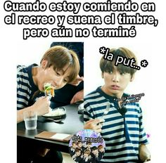 Read from the story MEMES DE BTS 3 by Ktxebae (𝐮𝐰𝐮) with reads. Kid Memes, Funny Memes, Bts Funny, S Videos, Playful Kiss, Hoseok, Seokjin, Bts Chibi, Bts Lockscreen