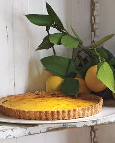 Rustic Meyer Lemon Tart Recipe