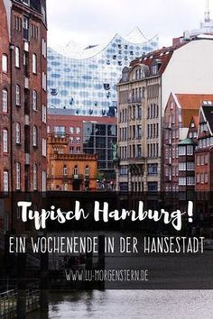 Tips for your weekend in the Hanseatic city - Typical Hamburg! Tips for your weekend in the Hanseatic city - Europe Destinations, Places In Europe, Europe Travel Tips, Places To See, Travel Guide, Medan, Hamburg Guide, Travel Around The World, Around The Worlds
