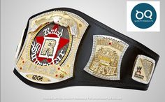 Ufc Belt, Wwe Edge, Wwe Championship Belts, Wwe Belts, Ultimate Fighting Championship, Purple Leather, Spinning, Etsy Shop, Black