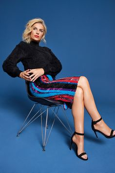 It's finally here! The latest drop in The Pippa Edit has arrived, and we couldn't be more excited! Think bold colours, statement suits, lots of party sequins and plush fabrics. Bold Colors, Colours, Slouchy Boots, Mixing Prints, Latest Fashion, Ireland, Plush, Fabrics, Chairs