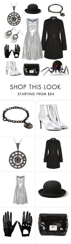 """Doris from Disney's Meet the Robinsons"" by vicipokemon ❤ liked on Polyvore featuring Bottega Veneta, Balenciaga, Burberry, Manon Baptiste, Abercrombie & Fitch, Atsuko Kudo and Jimmy Choo"