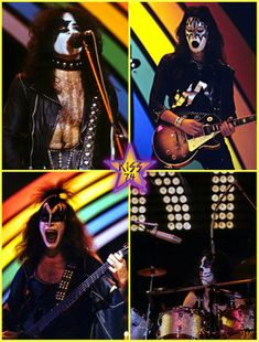 Kiss Group, Peter Criss, Paul Hollywood, Kiss Photo, Paul Stanley, Kiss Band, Ace Frehley, Hot Band, Star Children