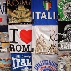 Souvenirs from Italy Souvenirs From Italy, Shirt Sale, T Shirt, 90s Tshirt, Columbus Day Weekend, Vintage Year, Weekend Sale, Sports Illustrated, Vintage Shirts
