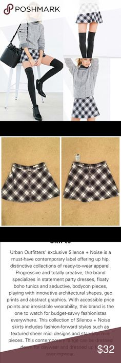 Silence + noise cher menswear a line skirt new!! silence+noise cher menswear a line skirt size O, brand new with tags. Urban Outfitters Skirts