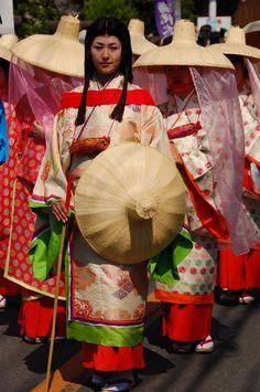 Sort of tsubo-shouzoku I think. Source by edosteampunk clothing japan Nara Period, Kamakura Period, Heian Era, Heian Period, Japanese Costume, Japanese Kimono, Traditional Fashion, Traditional Outfits, Traditional Japanese