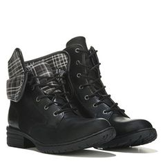 B.O.C. Saturn Lace Up Boot Black