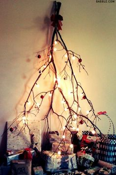 The No Tree Christmas Tree