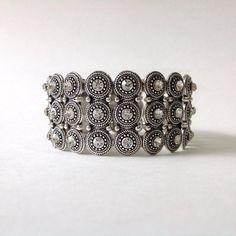 FitBit Flex or Vivofit Bracelet Coverup: Silver & by FitnessBitsy