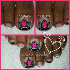 Love Nails, Turquoise, Finger Nails, Creativity, Gold Nail Art, Simple Toe Nails, Pretty Toe Nails, Toe Nail Art, Teal