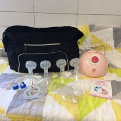 Spectra Dew 350 - Complete pump kit - Baby Products For Hire Melbourne Milk Storage Bags, Tree Hut, Baby Equipment, Baby Kit, Preparing For Baby, Next Holiday, Bottle Feeding, How To Make Shorts, Baby Gear