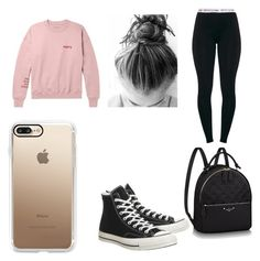 """""""Harry Styles"""" by tommy-coma ❤ liked on Polyvore featuring Converse and Casetify"""