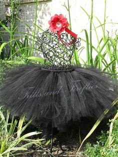 Black Full and Puffy Tutu in Baby to Adult by Frills and Fireflies, $32.00