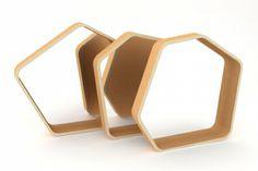 decovry.com - La Nomade Du Design | Originele Zeshoekige Spiegel