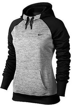 Adorable therma style nike fleece hoodie