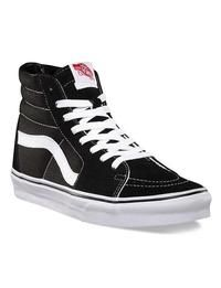 bb109294745 Vans Suede Canvas SK8-HI Skate Shoes - Black