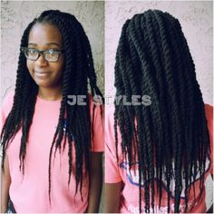 Je Styles on Pinterest Marley Twists, Full Sew In and Senegalese ...