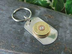 Shotgun Casing Jewelry by thekeyofa on Etsy, $20.00