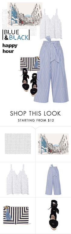 """""""A Little Bubbly"""" by youaresofashion ❤ liked on Polyvore featuring By Malene Birger, Clare V., Raye and happyhour"""