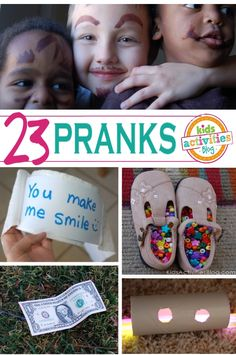 April Fool's Day pranks for kids!