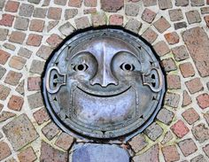 Japanese manhole cover, simply brilliant