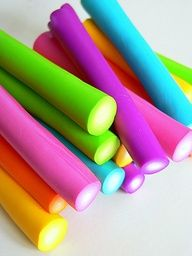 Neon Candy Sticks #colours
