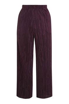 Pleated Awkward Length Trouser