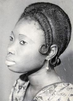Threaded Hair -- 1960's West Africa African Tribes, African Braids, Afro Punk, Hair Art, Your Hair, Tribal Hair, Natural Hair Styles, Long Hair Styles, African American Hairstyles