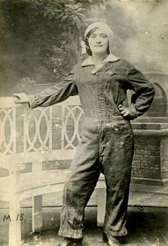 To mark International Women's Day, a portrait of munitions worker Lottie Meade has been added to IWM Centenary's Faces of the First World War on Flickr.  It is the first photograph of a woman to be added to the collection, which was started in November 2011. The project is part of the IWM First World War Centenary Programme, and will continue until the 2014 centenary.  Each weekday, a new photo is added from IWM Collections.