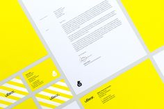 Brand identity and stationery designed by Hype Type Studio and Mash Creative for high end mobile phone, tablet and laptop accessories company U-Bear