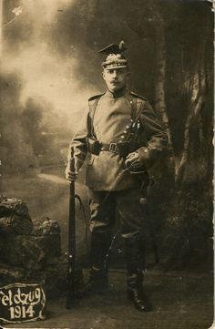 """German( Prussian) uhlan. WW I. 1914. Uhlans (in Polish: """"Ułan""""; """"Ulan"""" in German) were Polish light cavalry armed with lances, sabres and pistols. The title was later used by lancer regiments in the Russian, Prussian, and Austrian armies."""
