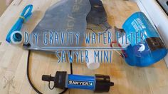 A simple DIY hack to turn your Sawyer Mini backpacking water filter into a gravity filter. Sawyer Mini Water Filter - http://amzn.to/1MbmuH1 Platypus 1L Soft...