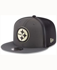 New Era Pittsburgh Steelers Tactical Camo Band 9FIFTY Snapback Cap - Gray Adjustable