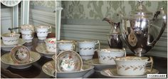 Spode. 19th century service.  Taking tea when visiting the Marquis and Marchioness of Ailsa is always a stylish affair!