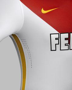 AS Monaco Home Kit 2015-16 As Monaco, Kit, Sports, Tops, Fashion, Hs Sports, Moda, Fashion Styles, Sport