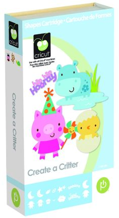 Cricut Create a Critter Cartridge     Brand-New
