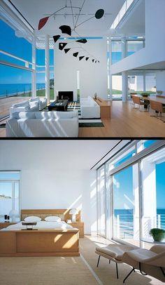 Luxury Beach House by Richard Meier and Michael Palladino