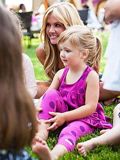 Nancy O'Dell celebrated her daughter's third birthday and gave guests Mabel's Labels in the goody bags
